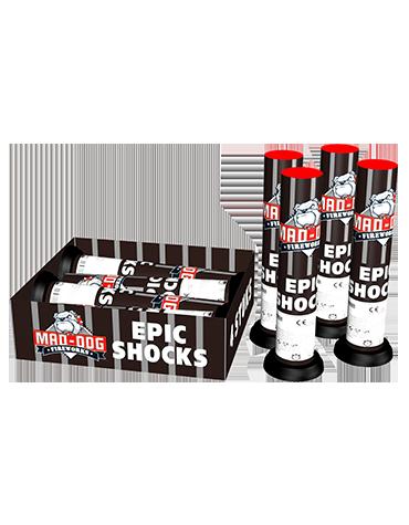 Epic Shocks - 4 stuks - Grootvuurwerk.nl