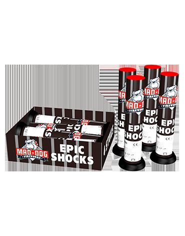 Mortieren Epic Shocks - 4 stuks