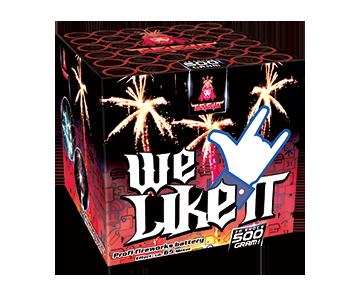 WE LIKE IT   - Grootvuurwerk.nl