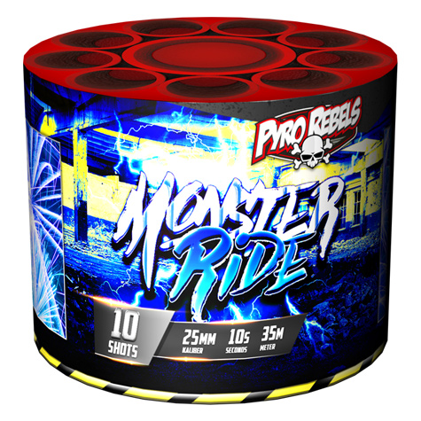 Monster Ride - Cakes