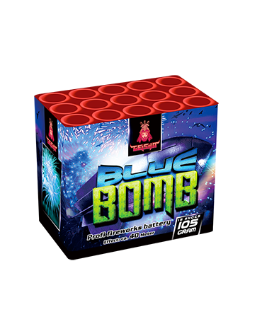Blue Bomb - Cakes