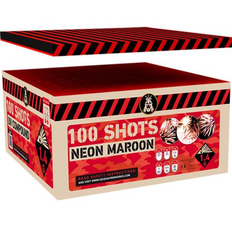 NEON MAROON 100