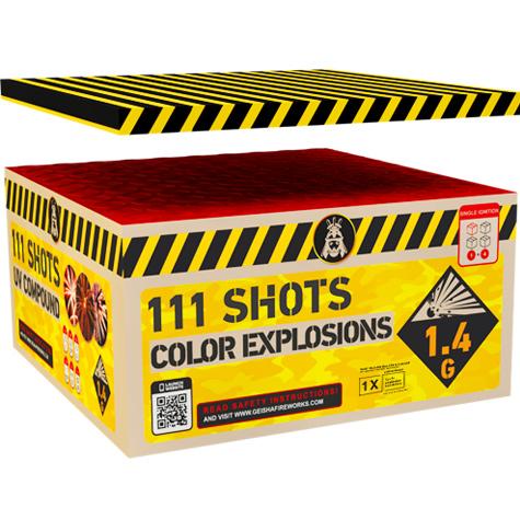 Color Explosions Box - Cakeboxen