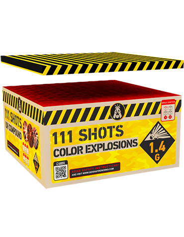 Cakeboxen Color Explosions Box