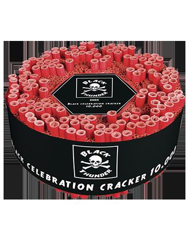 Knalvuurwerk 10.000 Black Celebration Cracker