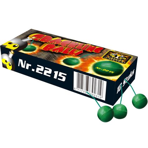Crackling Balls - Grondvuurwerk