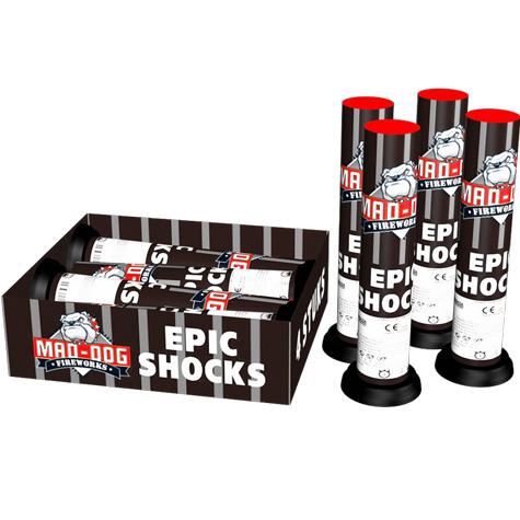 Epic Shocks - 4 stuks - Mortieren