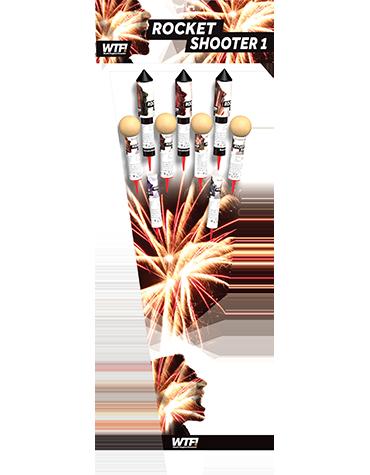 Vuurpijlen Rocket Topper 2