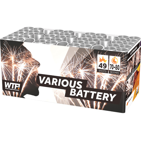 Various Battery - Cakes