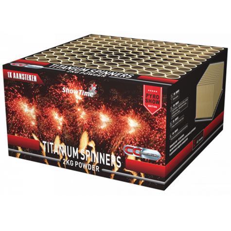 TITANIUM SPINNERS - Cakeboxen