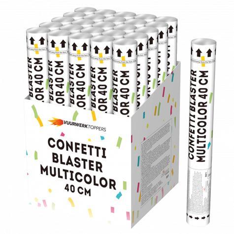 Confetti Blaster Multicolor 40cm - Kindervuurwerk
