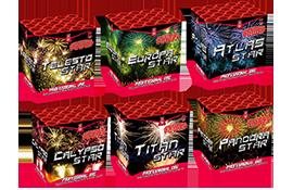 Nieuwe artikelen Mega 6 - Star Assorted