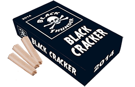 Knalvuurwerk Black Cracker