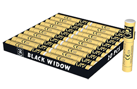 Knalvuurwerk Black Widow