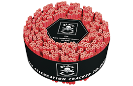 Knalvuurwerk 30.000 Black Celebration Cracker