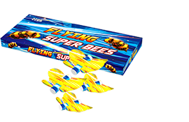 Grond en siervuurwerk Flying Superbees