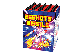 Cakes Missile 25