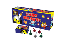 Happy crackers Kingsize Knalerwten