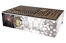 Cakeboxen Big Platina Crystal