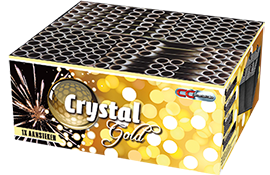 Cakeboxen Big Gold Crystal