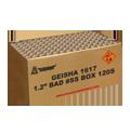 """Cakes 1.2"""" BAD #SS BOX - Grootvuurwerk.nl"""
